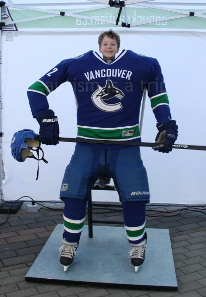 Jack looks good as a Canuck!
