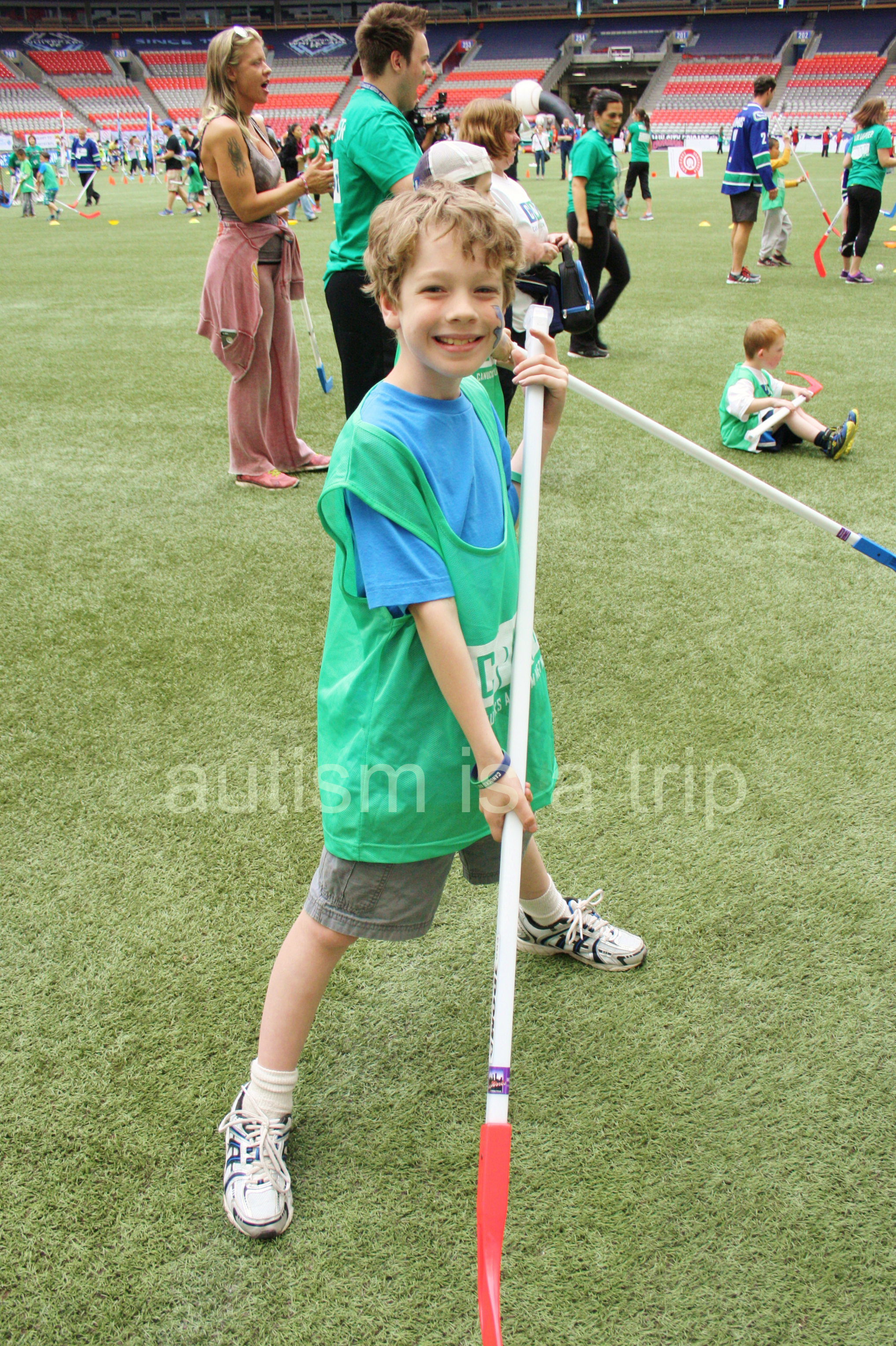 Canucks Autism Network Sports Day Adventure!